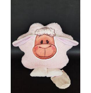 Levendulás Bárány plüssállat rózsaszín csillogó